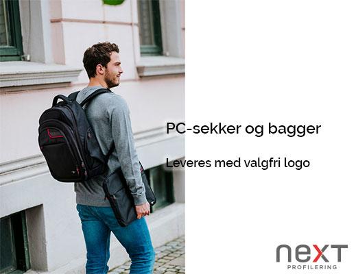 pc sekk med logo eller trykk