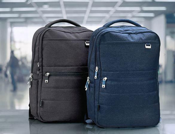 Urban backpack pc sekk med logo