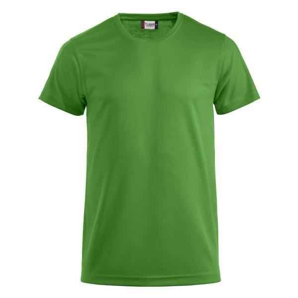 Billig teknisk t skjorte med trykk av logo Rask levering