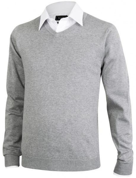 f134e7064 V-genser med brodert logo - Alle type varer med trykk & logo ...
