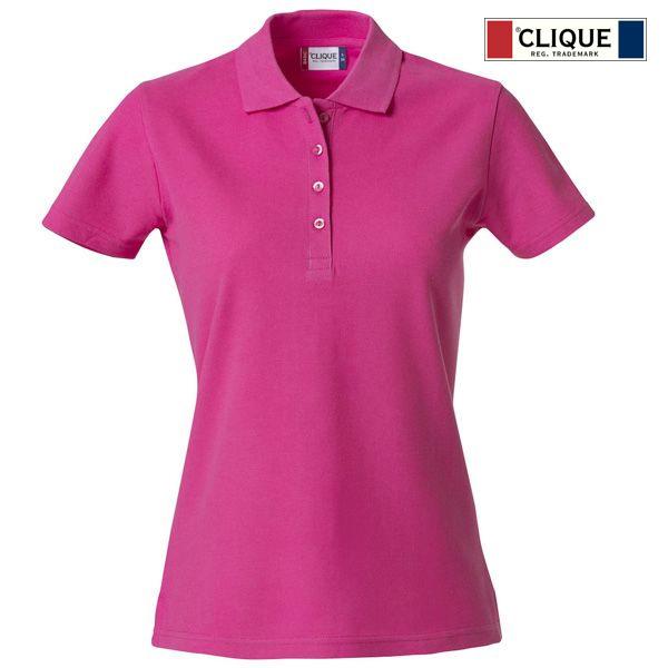 Basic polo skjorte til dame med logo Next Profilering AS