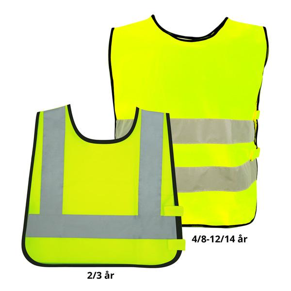 a14a15c6 Refleksvest til barnehage med trykk - Alle type varer med trykk ...