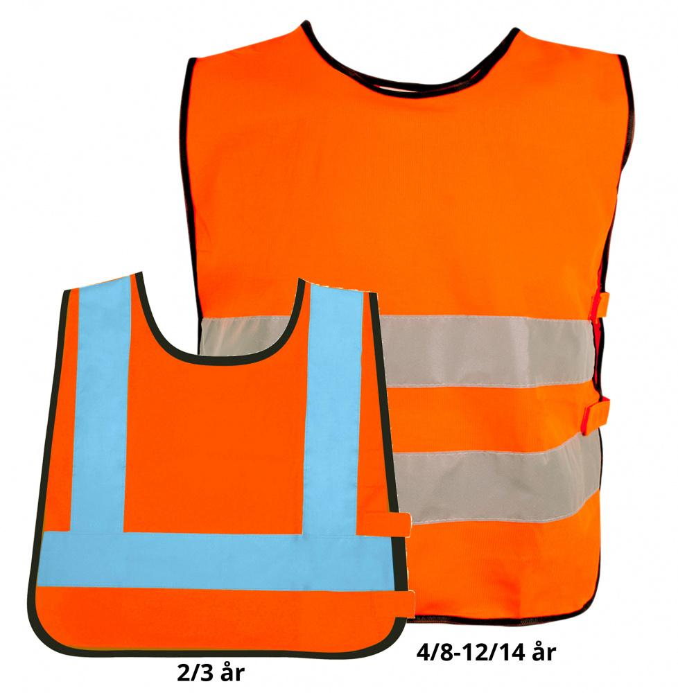 84c865ab Refleksvest til barnehage med trykk · Refleksvest til barnehage med trykk